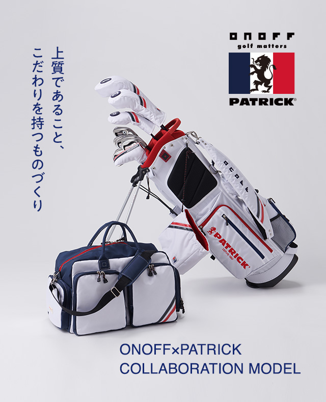 ONOFF×Patrick Collaboration Model