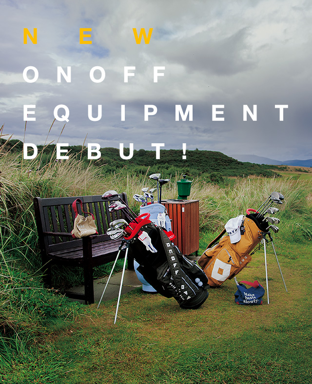 New ONOFF Equipment Debut!