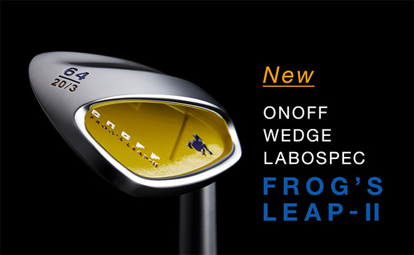 ONOFF Wedge Labospec Frog's Leap-Ⅱ